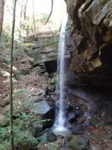 Braziel Creek waterfall