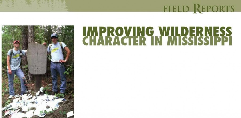 MS Wilderness Rangers in NF Mag