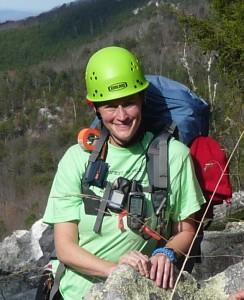 Kim Waites, volunteer wilderness ranger