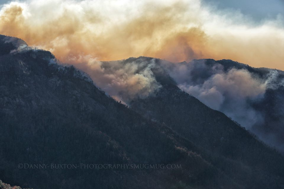 table rock fire