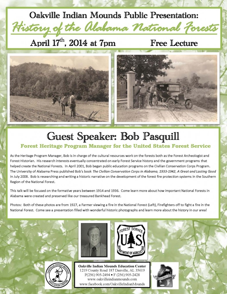 Bob Pasquill April 17 Lecture Flier