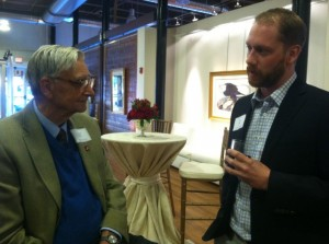 Ben meets with Dr. E.O. Wilson in Alabama.