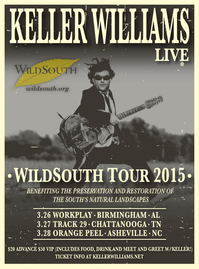 Keller Williams LIVE @ WorkPlay | Birmingham | Alabama | United States