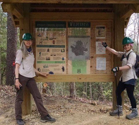 Wilderness kiosks(8)