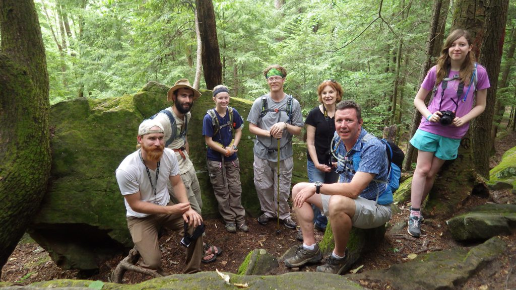 Wild South hikers, April 2016, Sipsey Wilderness