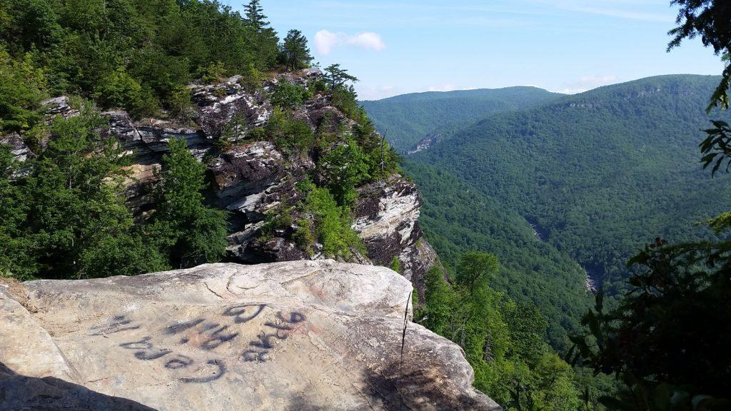 Grafitti Wiseman's view