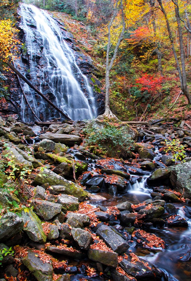 Crabtree Falls, North Carolina (Photo: Justine Iacaponi)